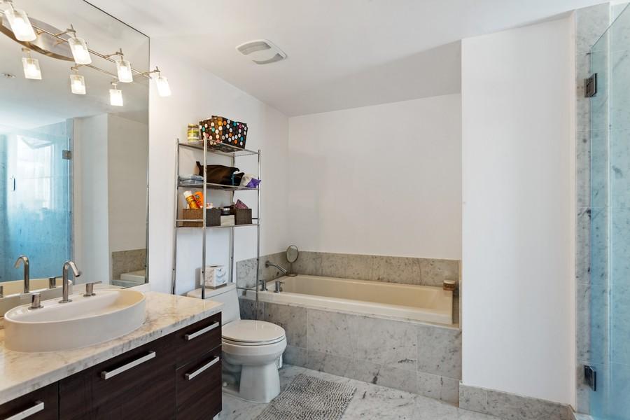 Real Estate Photography - 253 NE 2nd Street 1108, Miami, FL, 33132 - Bathroom