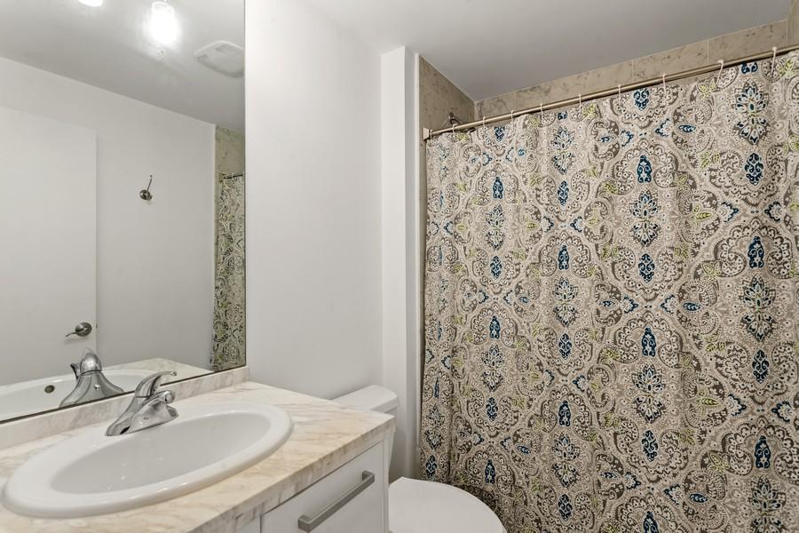 Real Estate Photography - 253 NE 2nd Street 1108, Miami, FL, 33132 - 2nd Bathroom