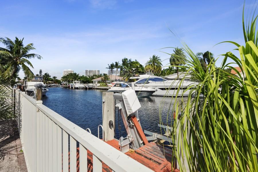 Real Estate Photography - 16421 NE 34 Ave, North Miami Beach, FL, 33160 - Dock