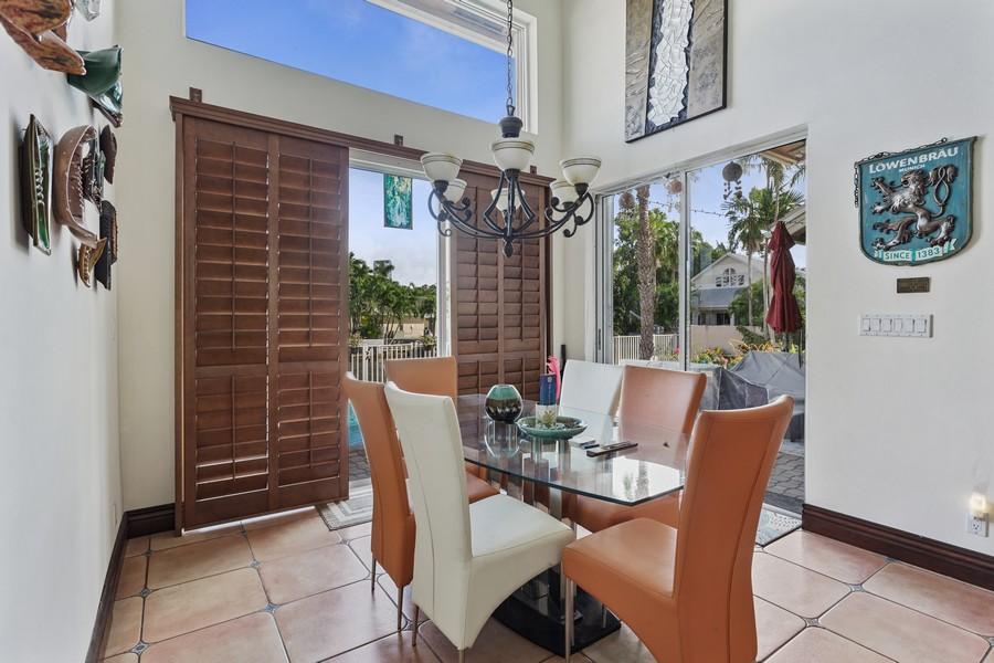 Real Estate Photography - 16421 NE 34 Ave, North Miami Beach, FL, 33160 - Dining Room