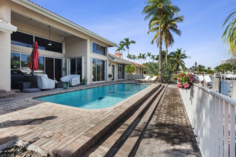 Real Estate Photography - 16421 NE 34 Ave, North Miami Beach, FL, 33160 - Back Yard
