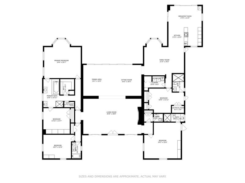 Real Estate Photography - 29 Indian Creek Island Rd, Indian Creek, FL, 33154 - Floor Plan
