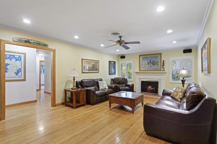 Real Estate Photography - 13205 SW 71 Avenue, Pinecrest, FL, 33156 - Living Room
