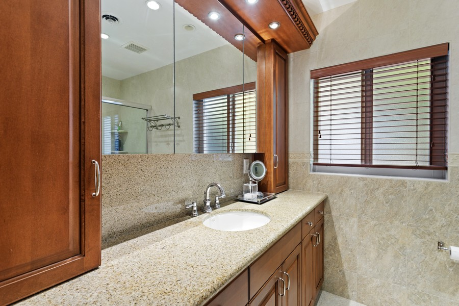 Real Estate Photography - 13205 SW 71 Avenue, Pinecrest, FL, 33156 - Primary Bathroom
