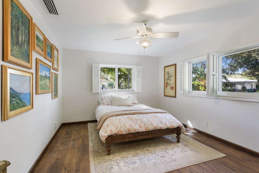 Real Estate Photography - 13205 SW 71 Avenue, Pinecrest, FL, 33156 - Primary Bedroom