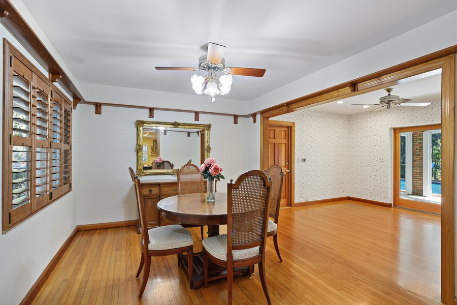 Real Estate Photography - 13205 SW 71 Avenue, Pinecrest, FL, 33156 - Dining Room
