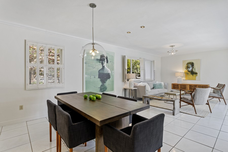 Real Estate Photography - 7800 SW 112 Street, Pinecrest, FL, 33156 - Dining Room