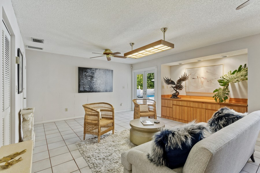 Real Estate Photography - 7800 SW 112 Street, Pinecrest, FL, 33156 - Family Room