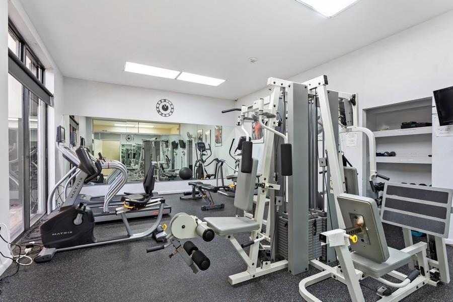 Real Estate Photography - 8777 Collins Ave #606, Surfside, FL, 33154 - Gym