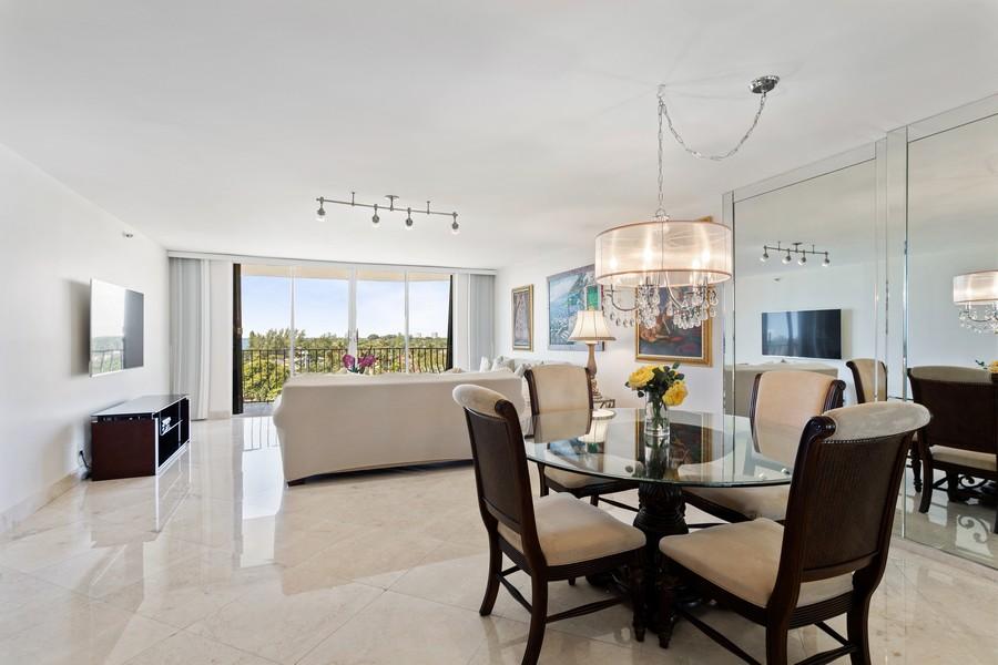 Real Estate Photography - 8777 Collins Ave #606, Surfside, FL, 33154 - Dining Room