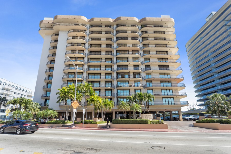 Real Estate Photography - 8777 Collins Ave #606, Surfside, FL, 33154 - Front View