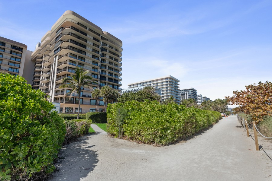 Real Estate Photography - 8777 Collins Ave #606, Surfside, FL, 33154 - Rear View