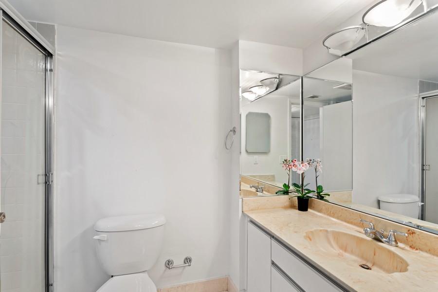 Real Estate Photography - 8777 Collins Ave #606, Surfside, FL, 33154 - Bathroom