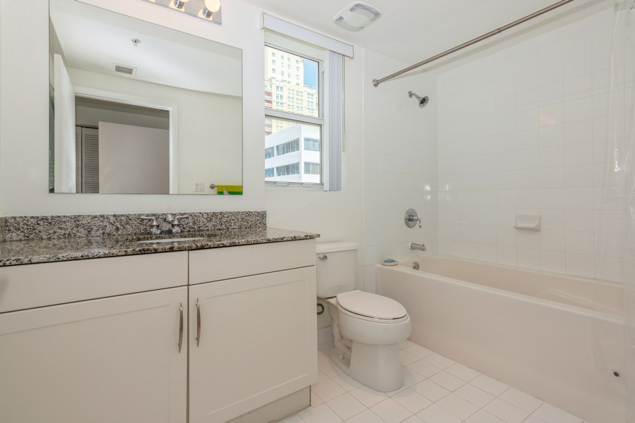 Real Estate Photography - 7285 SW 90th St, Unit D613, Miami, FL, 33156 - Primary Bathroom