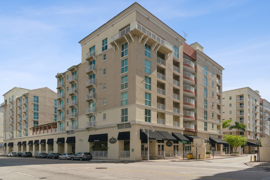 Real Estate Photography - 7285 SW 90th St, Unit D613, Miami, FL, 33156 - Front View