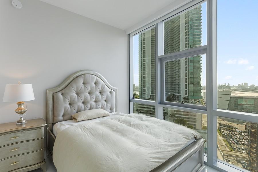 Real Estate Photography - 851 NE 1ST STREET #1611, Miami, FL, 33132 - 3rd Bedroom