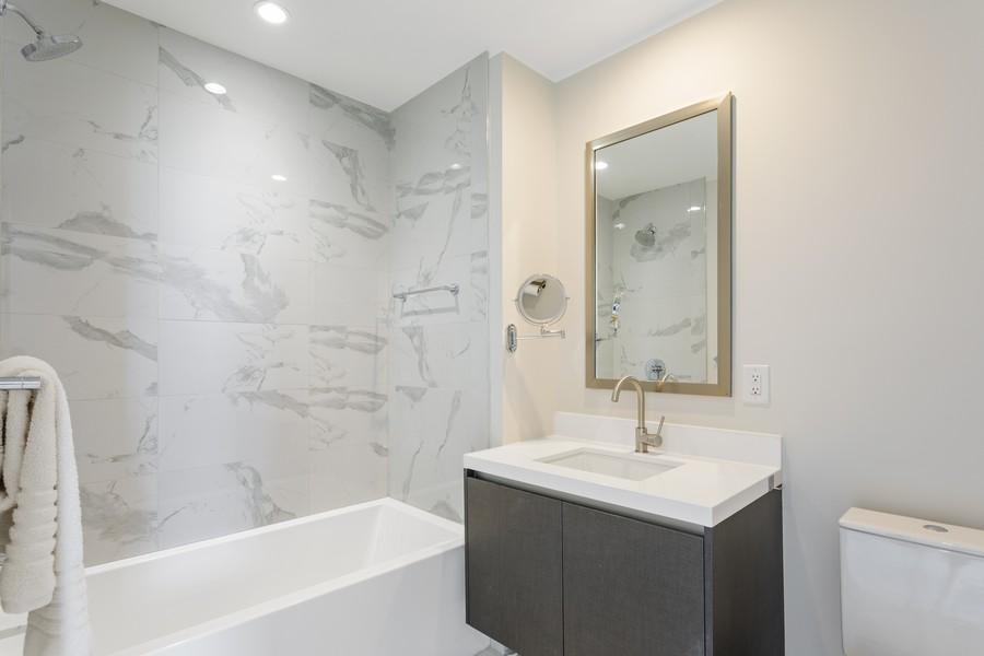Real Estate Photography - 851 NE 1ST STREET #1611, Miami, FL, 33132 - Bathroom