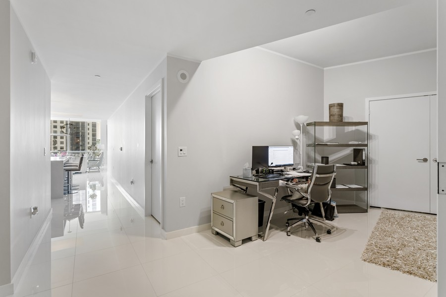 Real Estate Photography - 851 NE 1ST STREET #1611, Miami, FL, 33132 - Den