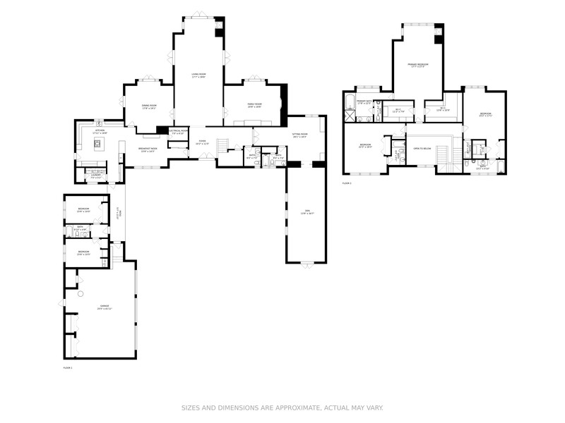 Real Estate Photography - 37 Indian Creek Island Road, Indian Creek Village, FL, 33154 - Floor Plan