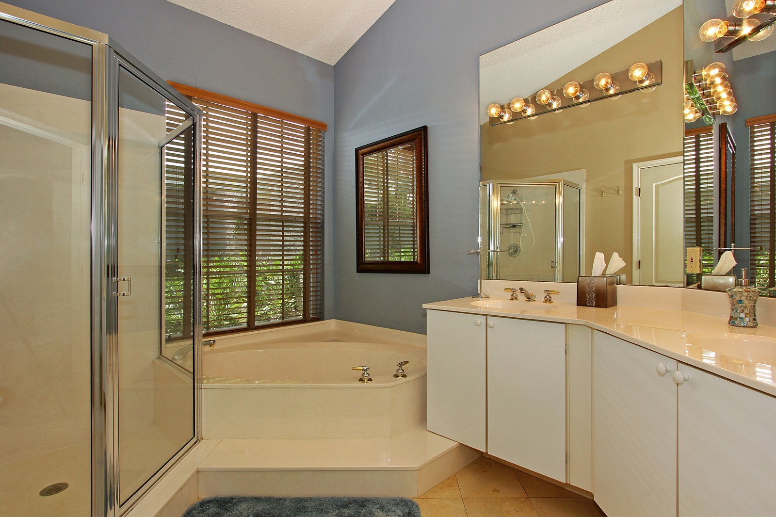 Real Estate Photography - 9107 BAYBURY Lane, West Palm Beach, FL, 33411 - Master Bathroom