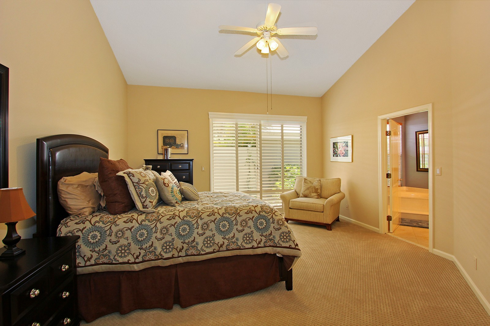 Real Estate Photography - 9107 BAYBURY Lane, West Palm Beach, FL, 33411 - Master Bedroom