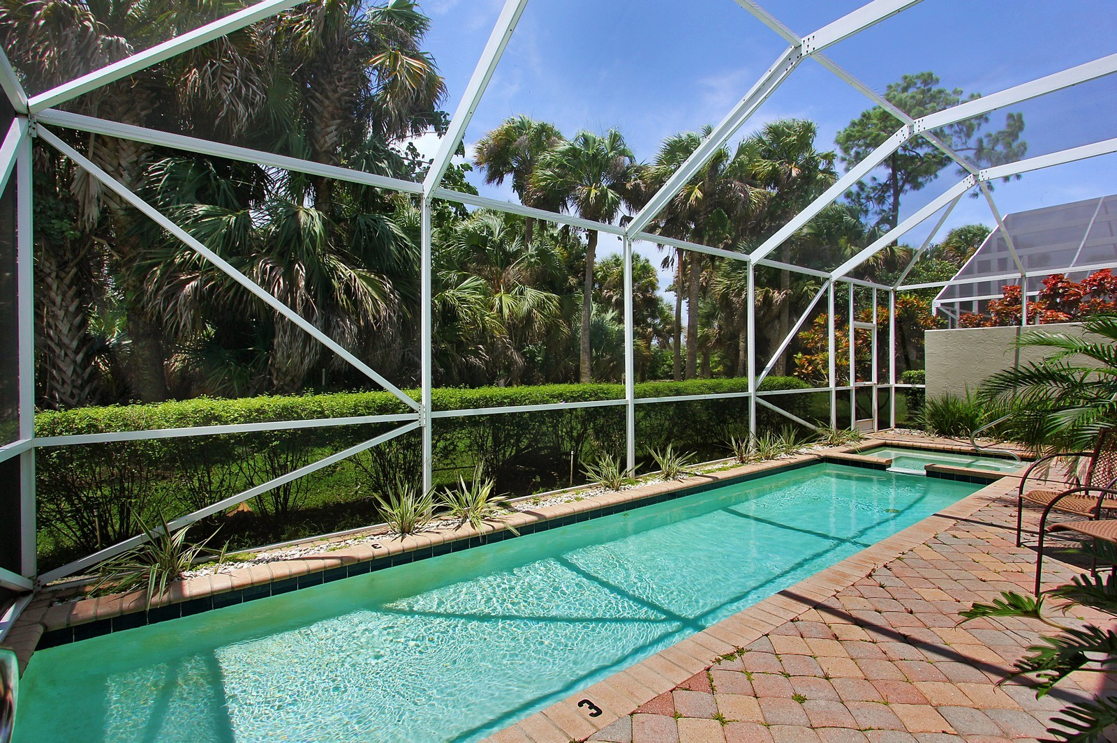 Real Estate Photography - 9107 BAYBURY Lane, West Palm Beach, FL, 33411 - Pool