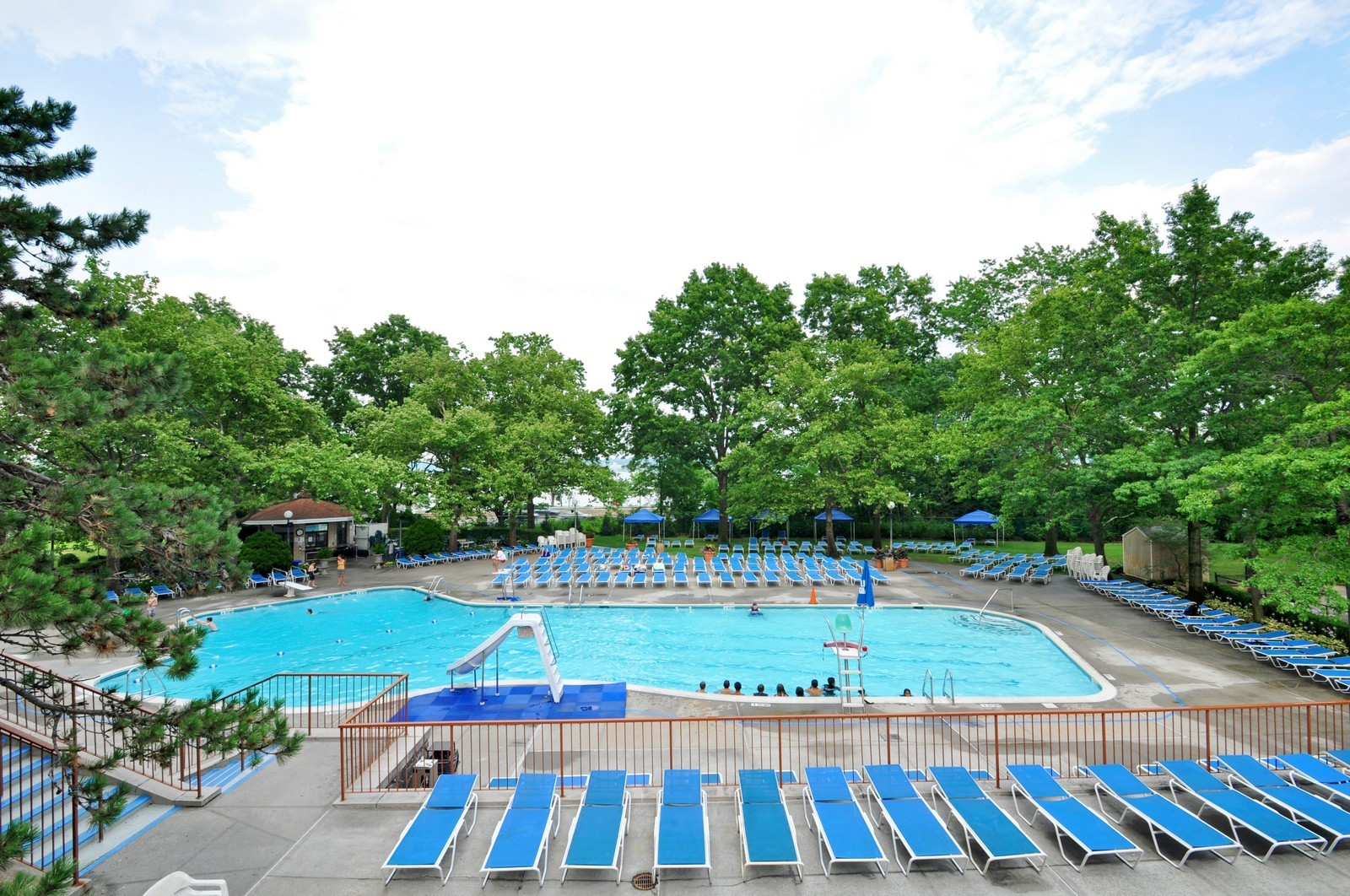 Real Estate Photography - 1805 215th St, Bayside, NY, 11360 - Pool