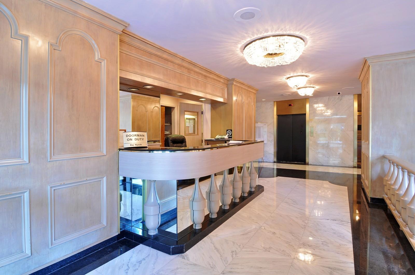 Real Estate Photography - 1805 215th St, Bayside, NY, 11360 - Front Desk