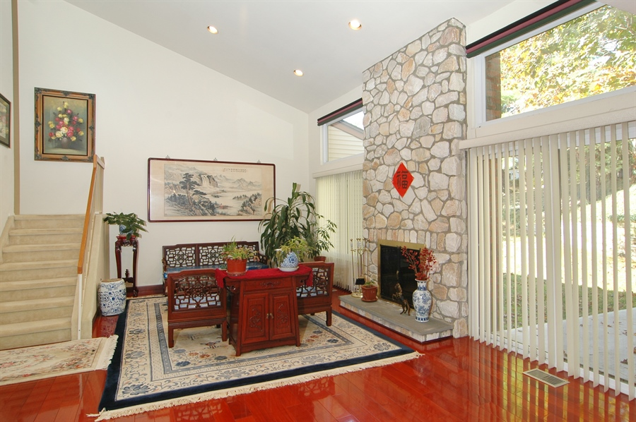 Real Estate Photography - 75 Eider Hill Court, Manhasset, NY, 11030 - Living Room
