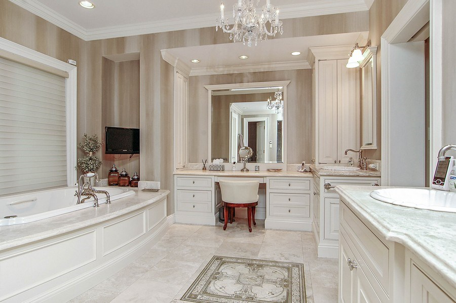 Real Estate Photography - 46 Morgan Dr, Old Westbury, NY, 11568 - Master Bathroom