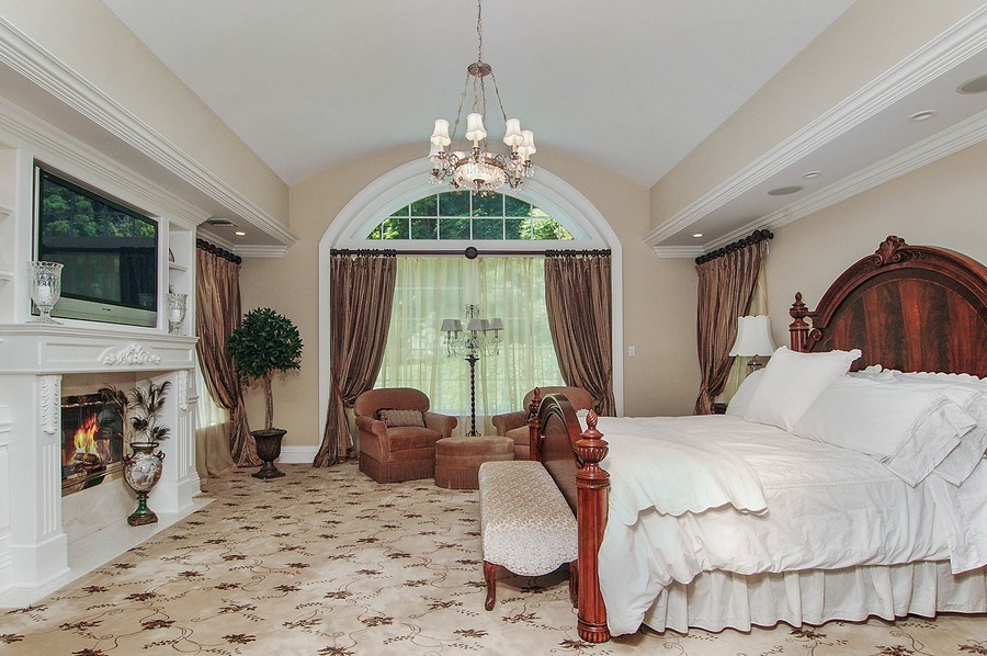 Real Estate Photography - 46 Morgan Dr, Old Westbury, NY, 11568 - Master Bedroom