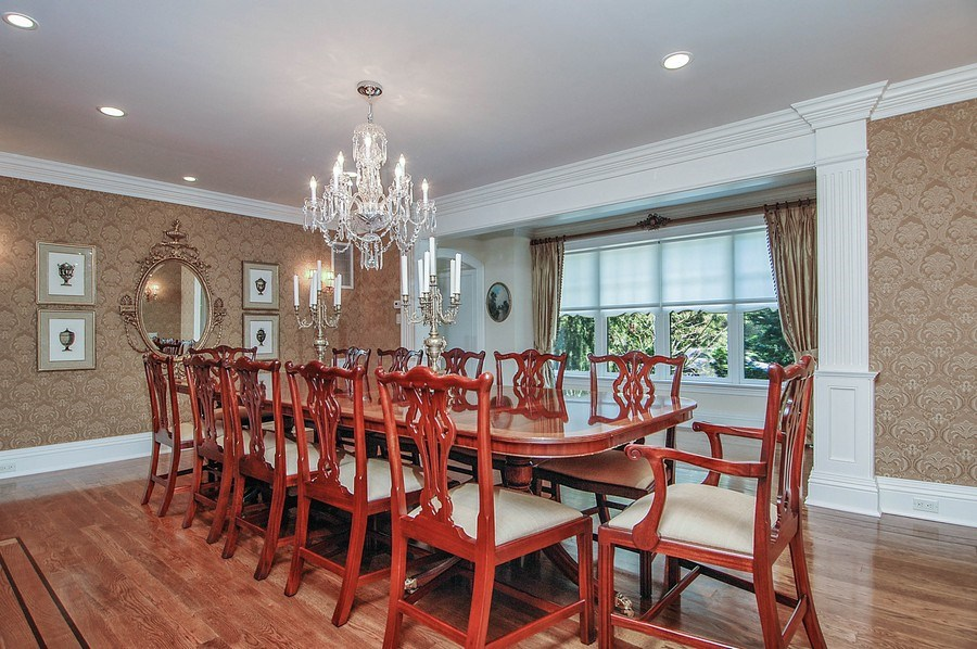 Real Estate Photography - 46 Morgan Dr, Old Westbury, NY, 11568 - Dining Room