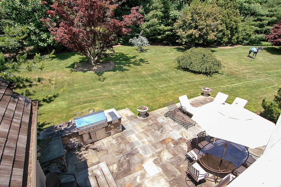 Real Estate Photography - 46 Morgan Dr, Old Westbury, NY, 11568 - Back Yard