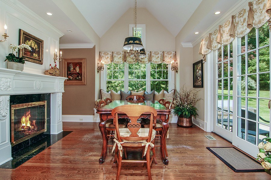 Real Estate Photography - 46 Morgan Dr, Old Westbury, NY, 11568 - Breakfast Area
