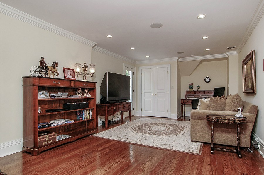 Real Estate Photography - 46 Morgan Dr, Old Westbury, NY, 11568 - Den