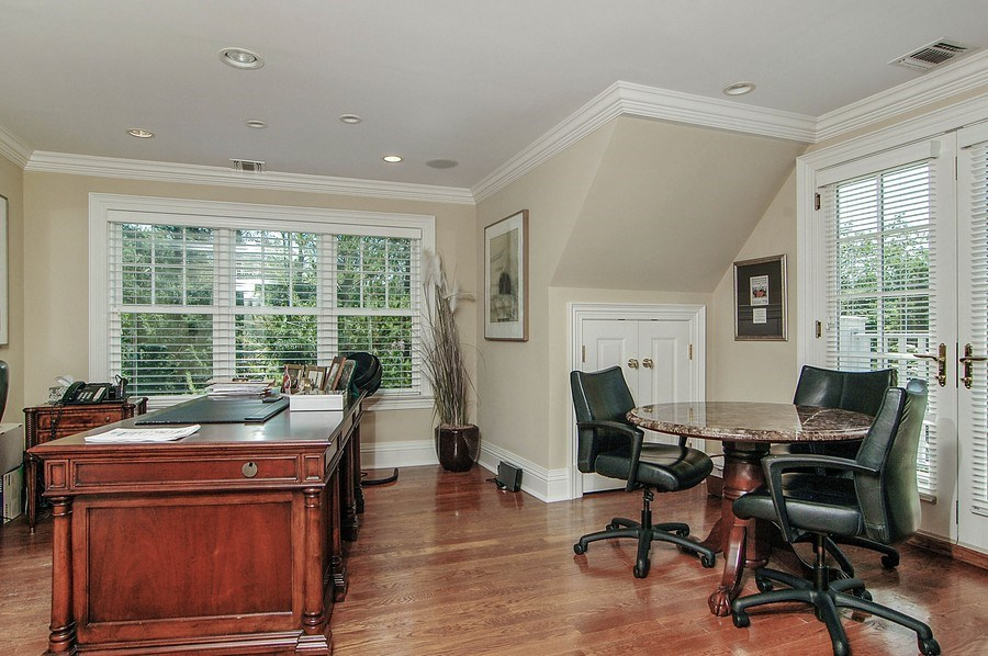 Real Estate Photography - 46 Morgan Dr, Old Westbury, NY, 11568 - Office