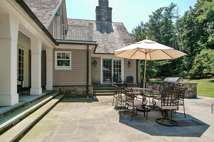 Real Estate Photography - 46 Morgan Dr, Old Westbury, NY, 11568 - Patio