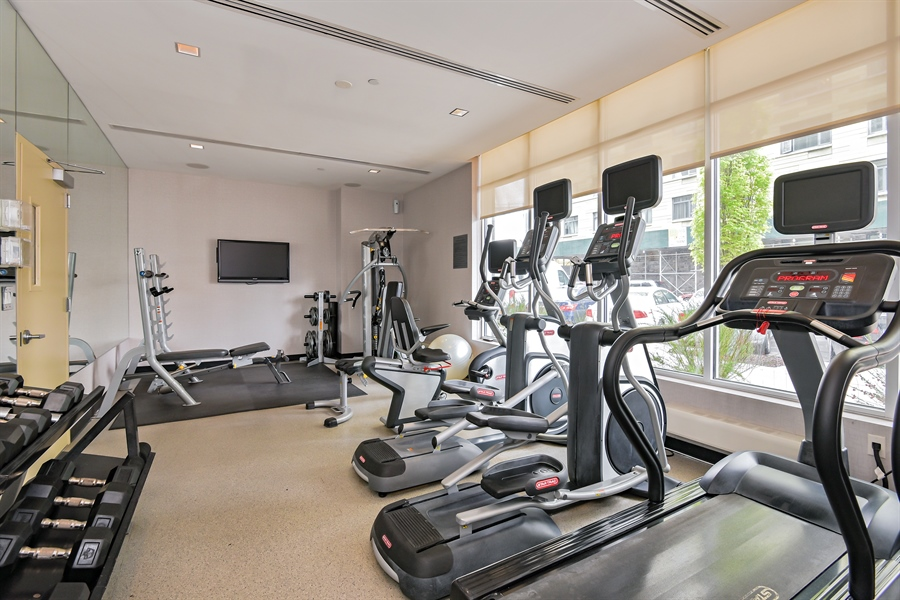 Real Estate Photography - 48-15 11th St, Long Island City, NY, 11101 - Gym