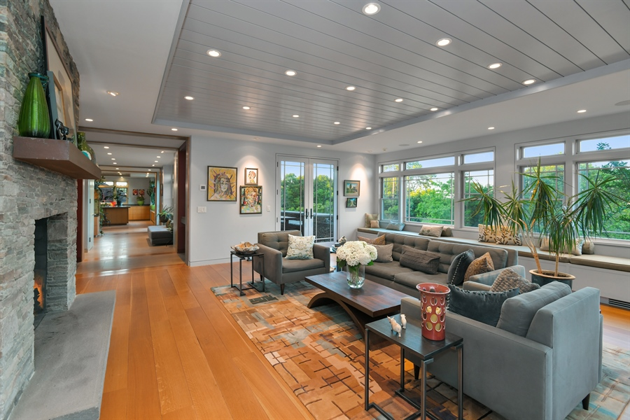 Real Estate Photography - 114 Glenmore Ave, Montauk, NY, 11954 - Living Room