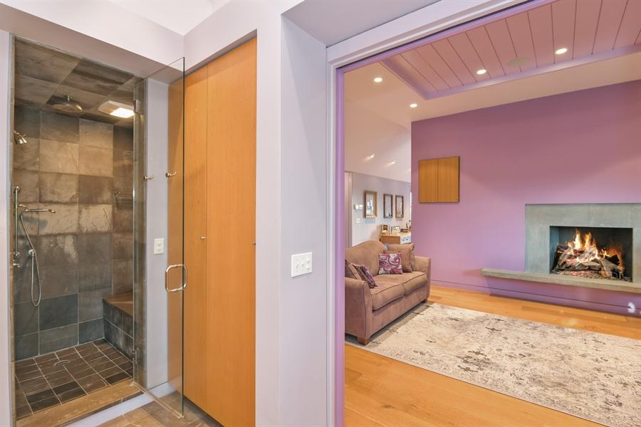 Real Estate Photography - 114 Glenmore Ave, Montauk, NY, 11954 - Master Bathroom