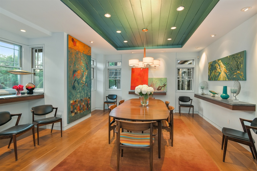 Real Estate Photography - 114 Glenmore Ave, Montauk, NY, 11954 - Dining Room