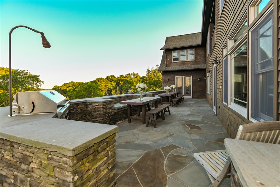 Real Estate Photography - 114 Glenmore Ave, Montauk, NY, 11954 - Barbeque / Picnic Area