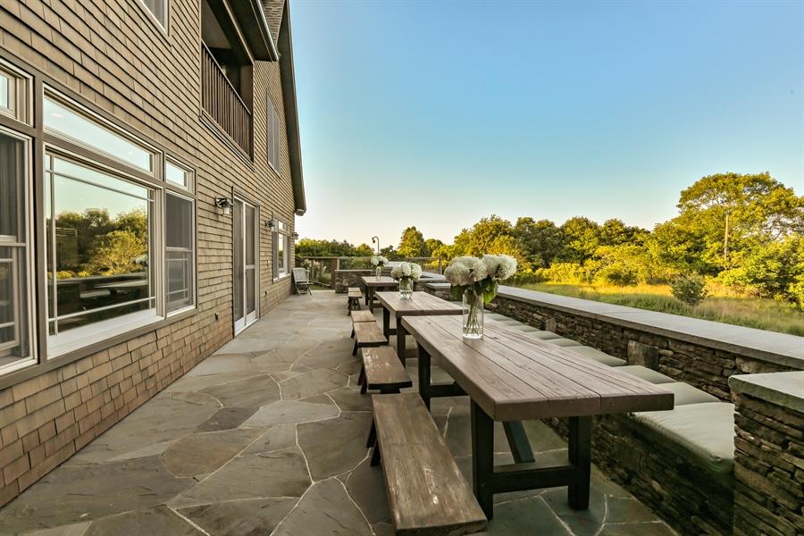 Real Estate Photography - 114 Glenmore Ave, Montauk, NY, 11954 - Patio