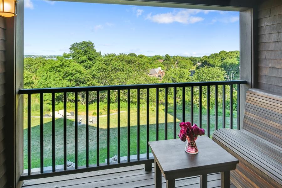 Real Estate Photography - 114 Glenmore Ave, Montauk, NY, 11954 - Balcony