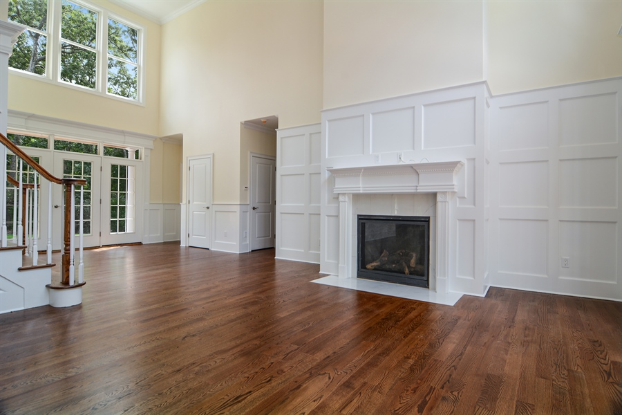 Real Estate Photography - 114 Laurel Valley, Sag Harbor, NY, 11963 - Foyer/Living Room