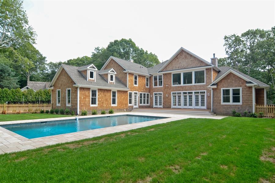 Real Estate Photography - 114 Laurel Valley, Sag Harbor, NY, 11963 - Back Yard