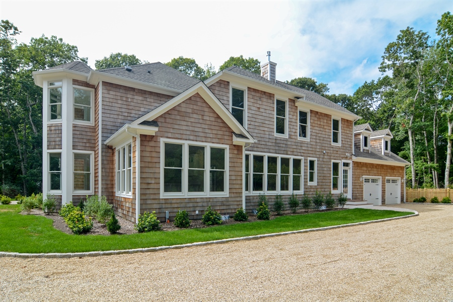 Real Estate Photography - 114 Laurel Valley, Sag Harbor, NY, 11963 - Side View