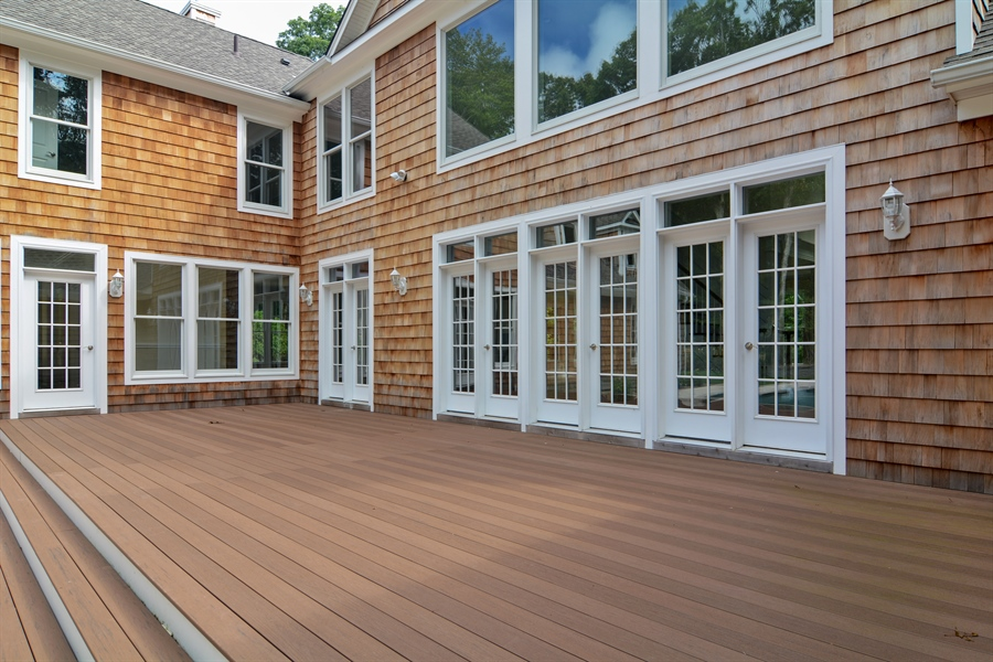 Real Estate Photography - 114 Laurel Valley, Sag Harbor, NY, 11963 - Deck