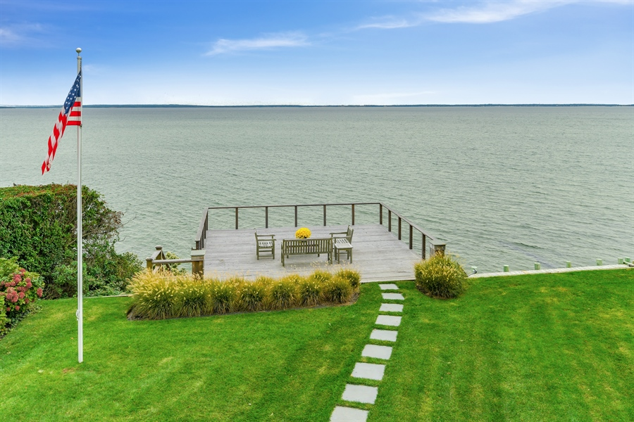 Real Estate Photography - 7080 Great Peconic Bay Blvd, Laurel, NY, 11948 - Back Yard