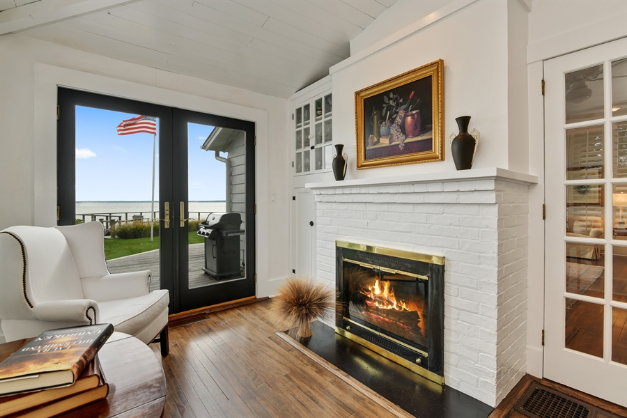 Real Estate Photography - 7080 Great Peconic Bay Blvd, Laurel, NY, 11948 - Family Room